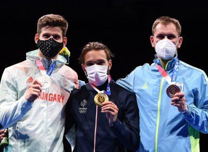"""""""Бронза"""" Рейзлина — первая для Украины олимпийская медаль в мужском шпажном фехтовании"""
