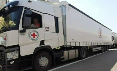 Через КПВВ «Новотроицкое» пропустили гуманитарный груз (Фото)