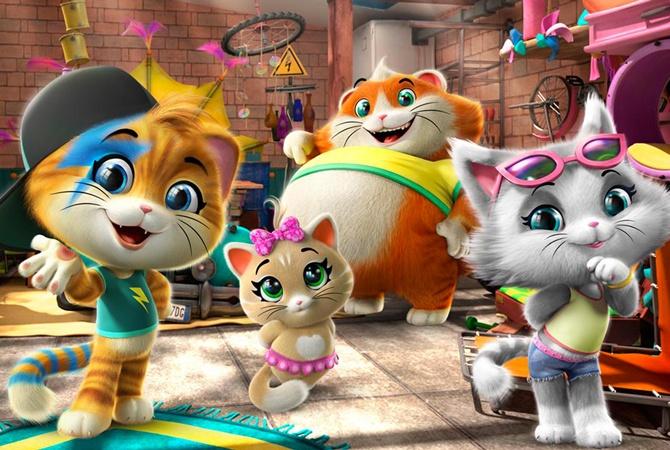 «44 кота» — новый мультсериал от создателей Winx на ПЛЮСПЛЮС