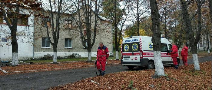 В прифронтовом Золотом открыли пункт базирования бригад скорой помощи (Фото)