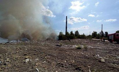 Киев в дыму: спасатели назвали причину