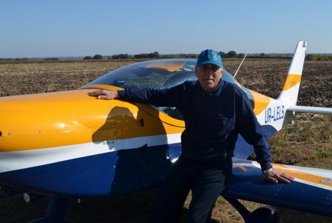Запорожский фермер стал пилотом в 60 лет
