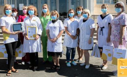 Харьков получил еще четыре современных аппарата ИВЛ производства Франции от Фонда Рината Ахметова и ФК «Шахтер»