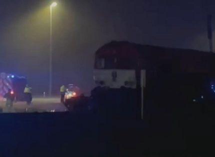 В Бельгии поезд раздавил грузовик, за рулем которого был украинец