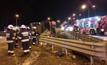 ДТП в Польше: пассажиры заявили, что водитель уснул за рулем