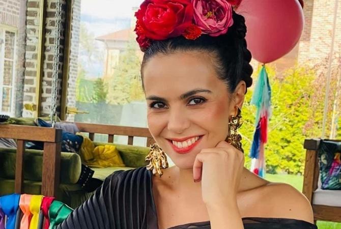 Настя Каменских в день рождения устроила в Киеве мексиканскую вечеринку