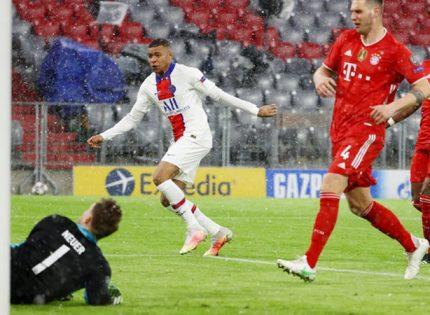 «Бавария» впервые проиграла в Лиге чемпионов за 20 матчей и в шаге от вылета