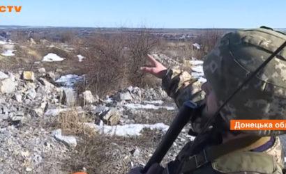 На передовой: Как проходят будни украинских военных вблизи КПВВ «Новотроицкое» (Фото)