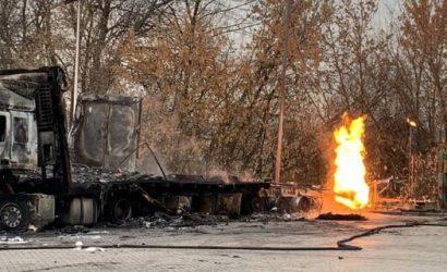 В компании WOG рассказали, почему взорвалась заправка на трассе Киев-Харьков