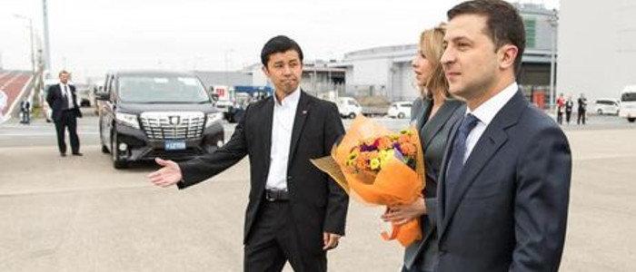 Зеленский встретится со Штайнмайером в Японии