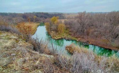 Волшебные оттенки воды: В «ДНР» показали  Зуй-гору и реку Крынка (Фото)
