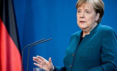 Меркель вышла из карантина
