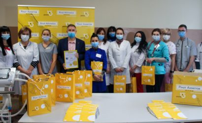 Медики из Винницы получили аппарат ИВЛ класса от Фонда Рината Ахметова
