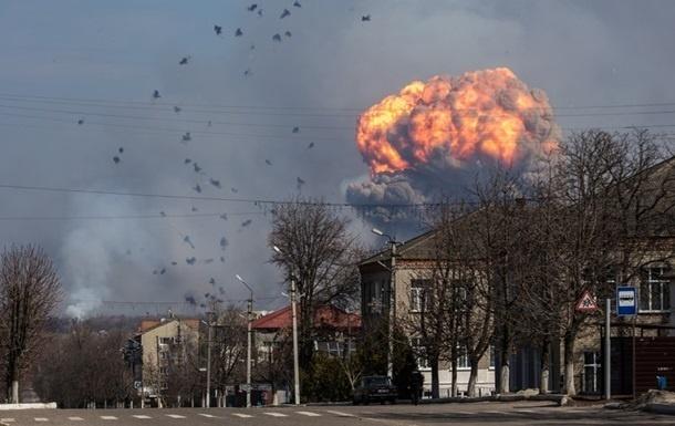 Стала известна возможная причина взрывов на складе боеприпасов в Балаклее