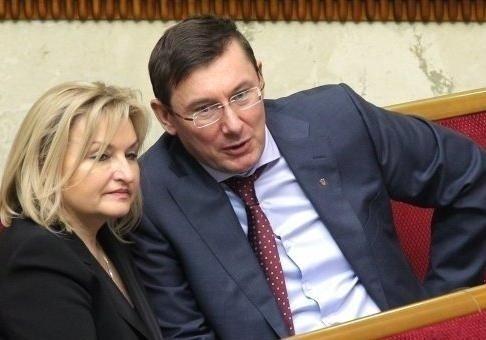 Юрий Луценко: у жены проблемы с сердцем