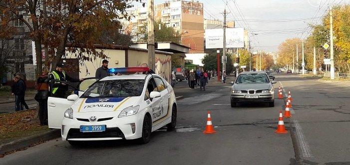 В Мариуполе иномарка сбила пешехода (Фото)