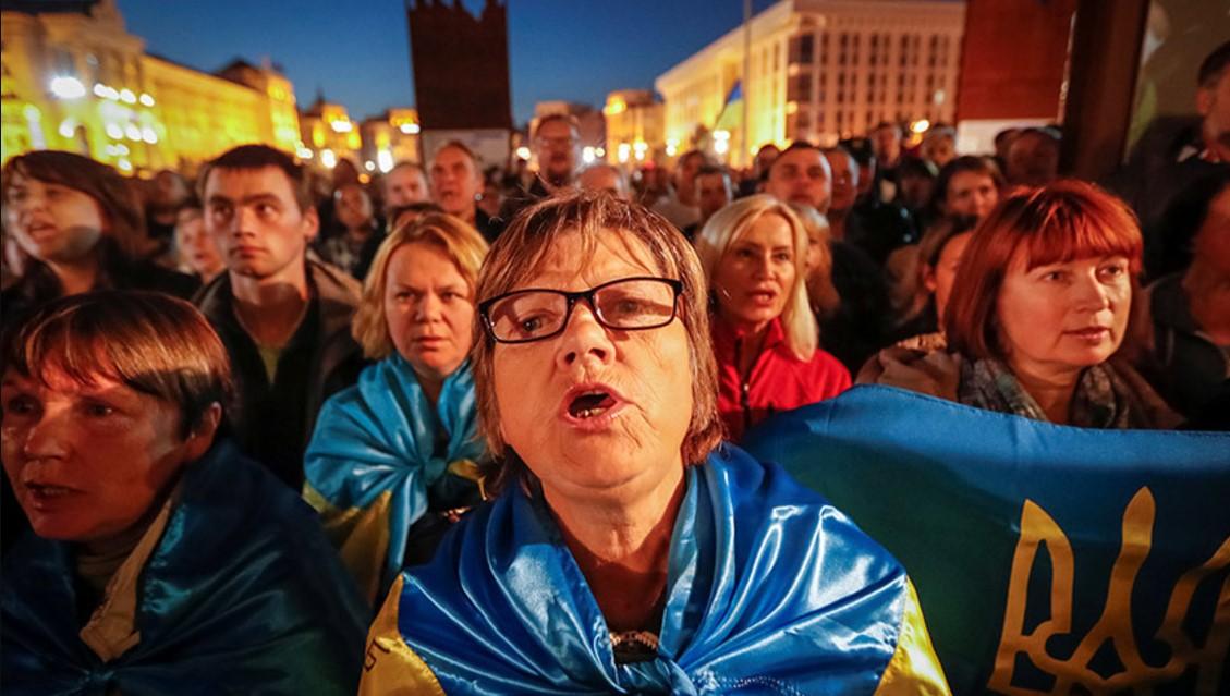 Во Львове протестовали против «формулы Штайнмайера»
