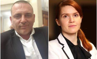 """""""Слуги народа"""" Безуглая и Бужанский поспорили, кто из них """"агент внешнего влияния"""""""
