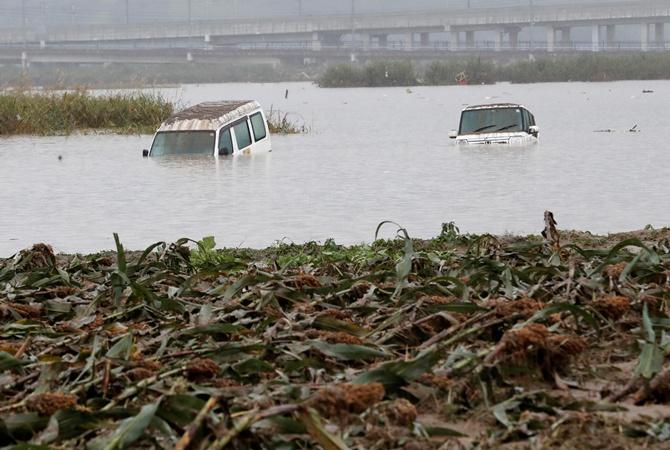 В Японии жертвами тайфуна «Хагибис» стали уже 66 человек