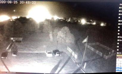 Камера многоэтажки в Чугуеве сняла момент падения АН-26 (Видео)