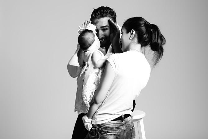 """Факт. Иракли Макацария и другие звезды обзавелись детьми в фотопроекте """"Отцы – теоретики"""""""
