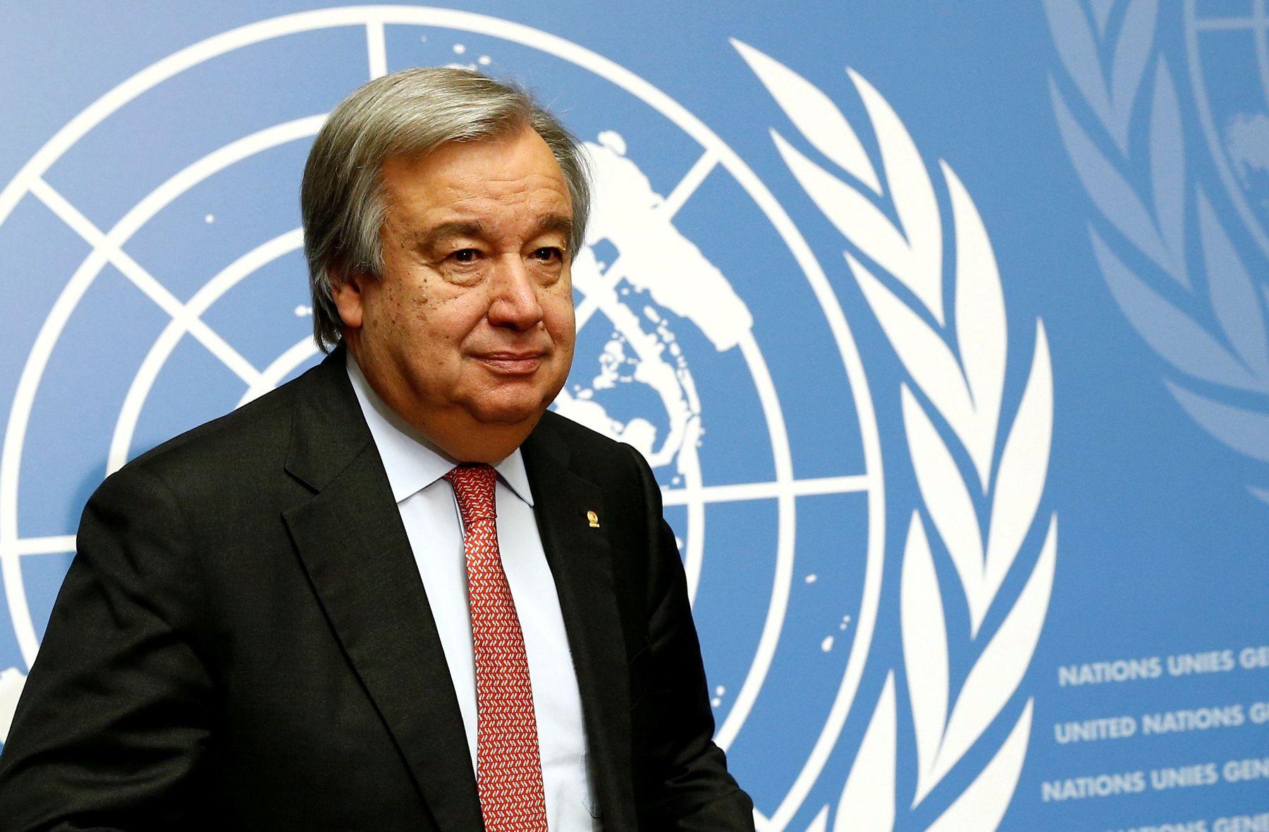 Генсек ООН: в ноябре нам нечем будет платить зарплату
