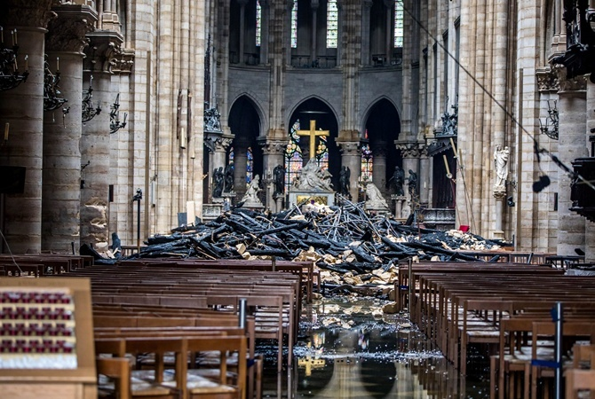 Нотр-Дам де Пари попал в список памятников, находящихся под угрозой