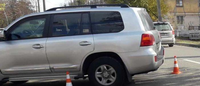 В Мариуполе автомобиль посольства Великобритании попал в ДТП (Фото)