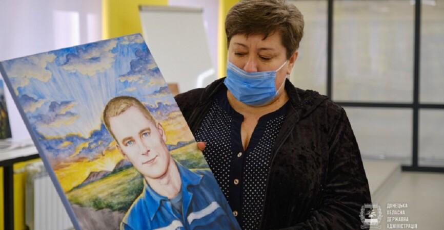 «Город Героев»: В Мариуполе презентовали арт-проект, посвященный погибшим на Донбассе