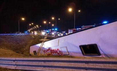 В Польше разбился автобус с украинцами: шесть человек погибли, 34 получили травмы
