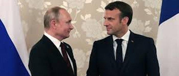 Путин и Макрон обсудили ситуацию с переговорами в «Нормандском формате»