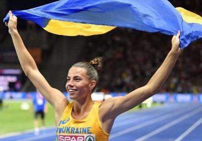 Украинка взяла медаль на чемпионате мира по прыжкам в длину