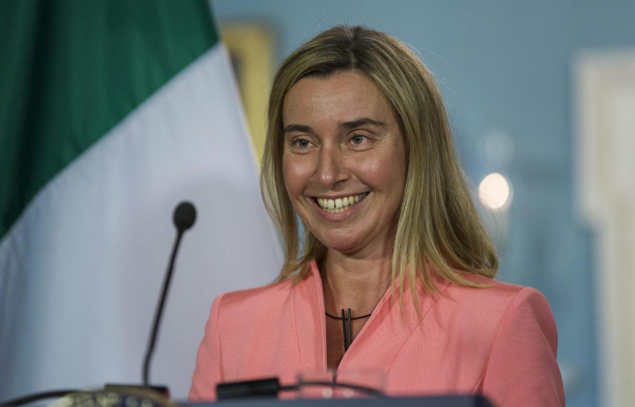 Могерини довольна планами Киева по Донбассу