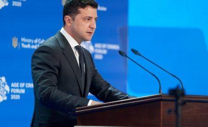 Зеленский призвал жителей ОРДЛО и Крыма осторожно праздновать День независимости Украины