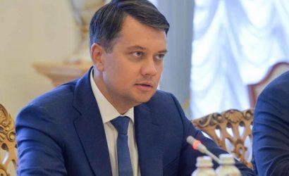 Игра на выживание Разумкова: остаться без кресла спикера и мандата депутата
