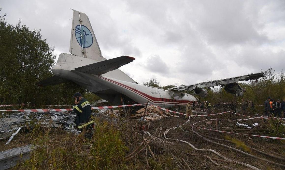 В полиции назвали версии катастрофы Ан-12
