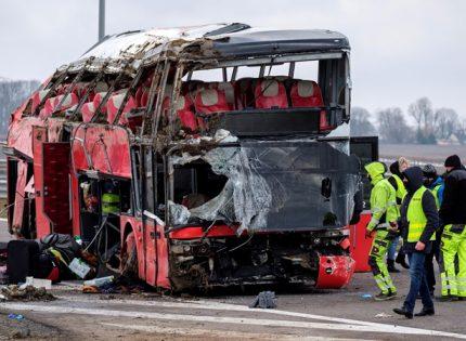 ДТП в Польше: в Украину выехал автобус с 26 пассажирами