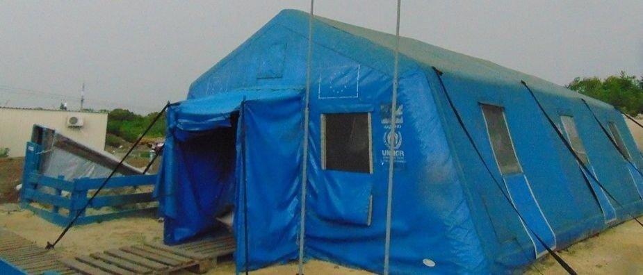 В пункты помощи на КПВВ Донетчины за небелю обратились более 750 человек