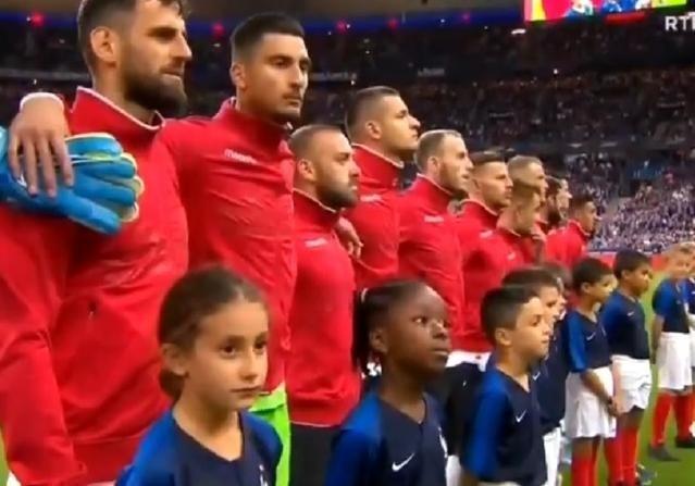 Франция заплатит 20 тысяч евро за казус с гимном в матче к Евро-2020