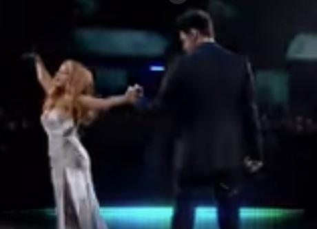 Тина Кароль и Дан Балан представили на «Танцах со звездами»  лирическую композицию