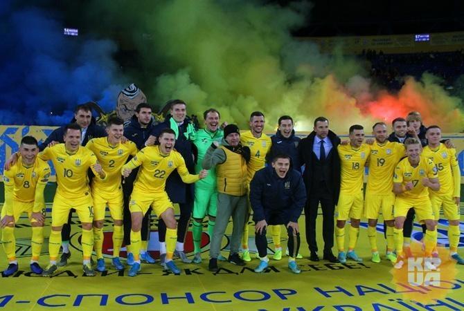 Расписание игр сборной Украины на Евро-2020