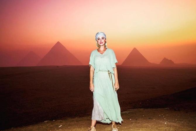 Кэти Перри отпраздновала 35-й день рождения с женихом в Египте