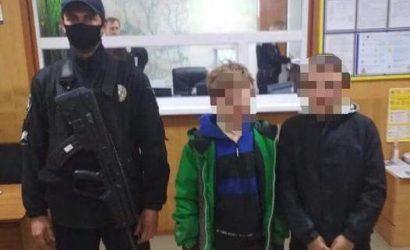 На Луганщине нашли детей, которые заблудились в лесу