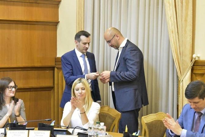 Сергей Рудык принес присягу депутата