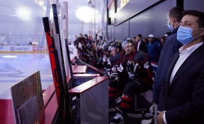 Большая победа для Донбасса: Зеленский принял участие в открытии ледовой арены в Мариуполе (Фото)