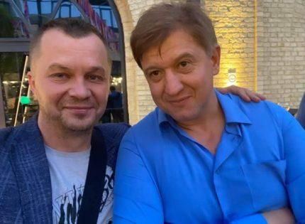 Милованов купил очки Armani, чтобы скрыть фингал от Данилюка