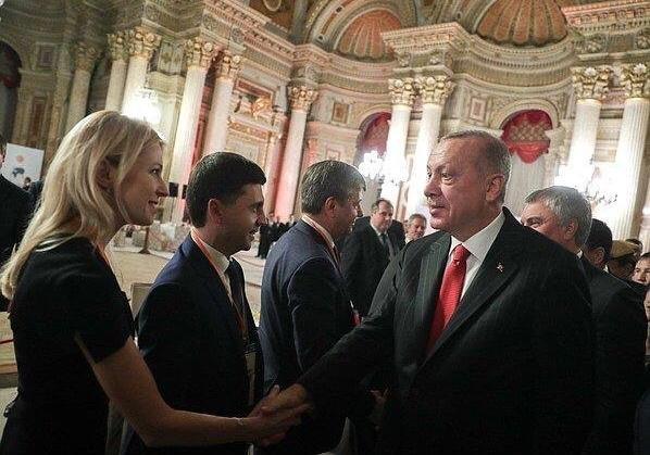Эрдоган встретился с Поклонской: Украина направила Турции ноту протеста