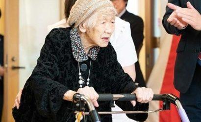 Самая старая женщина в мире признана рекордсменкой в Японии