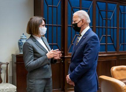 В Белом доме прошла встреча Байдена с Тихановской