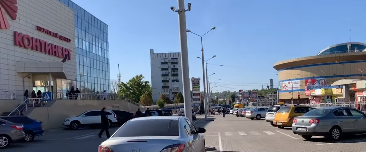 «Грин Плаза», «Континент», «Золотое Кольцо»: В Донецке показали центр (Видео)